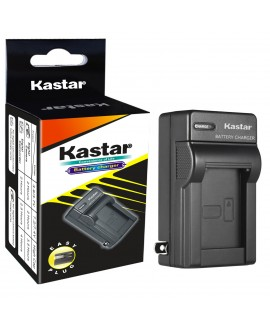 Kastar Travel Charger for LP-E5, LC-E5E and Canon EOS 450D, 500D, 1000D, Kiss F, Kiss X2, Kiss X3, Rebel XS, Rebel XSi, Rebel T1i Digital Cameras