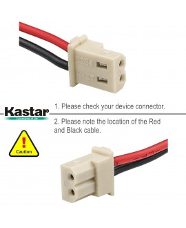 Kastar Cordless Phone Battery Replace for Vtech BT275242 BT175242 CS6128-31 CS6128-32 CS6128-41 CS6128-42 CS6129-1 CS6129-2 CS6129-3 CS6129-31 CS6129-41 CS6129-52 CS6129-54 GESPCF07 23-9086 960-1943